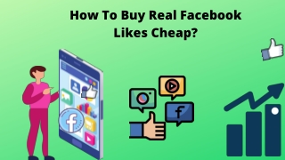 How To Buy Real Facebook Likes Cheap?