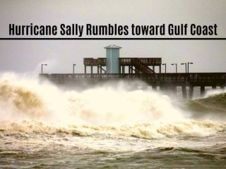 Hurricane Sally rumbles toward Gulf Coast