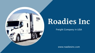 Freight Company in USA