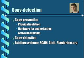 Copy-detection