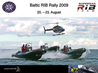 Baltic RIB Rally 2009 20. – 23. August