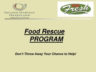 Food Rescue PROGRAM