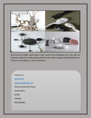 Affordable Modern Home Decor   Artipieces.com