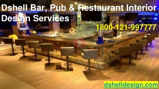 Bar Interior Design Services