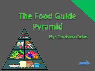 The Food Guide Pyramid By: Chelsea Cates