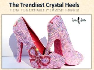 The Trendiest Crystal Heels
