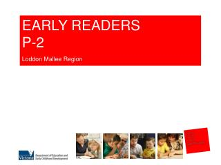 EARLY READERS P-2