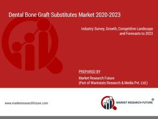 Dental bone graft substitutes market 2020