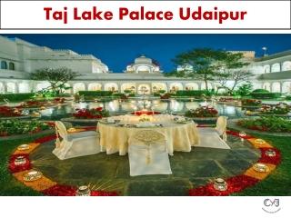 Best Resort for Destination Wedding in Udaipur - Taj Lake Palace Udaipur