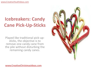 Icebreakers: Candy Cane Pick-Up-Sticks