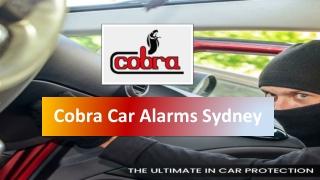 Car Alarms Melbourne