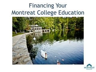 Financing Your  Montreat College Education