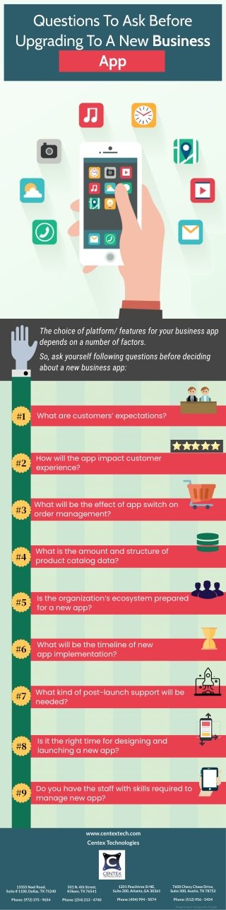 Questions To Ask Before Upgrading To A New Business App