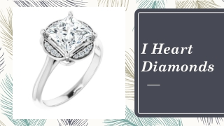 Unique and stylish collection of Hidden Halo Engagement Rings
