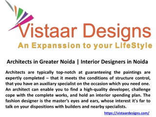 Architects in Greater Greater Noida
