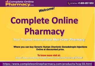 Generic Human Chorionic Gonadotropin Online