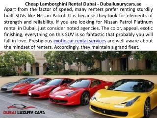 Ferrari car hire Dubai