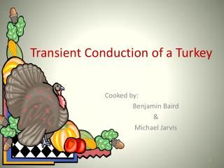 Transient Conduction of a Turkey