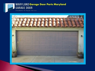 Garage Door Parts Maryland