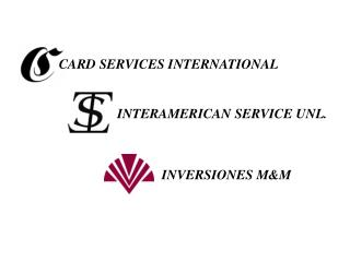 CARD SERVICES INTERNATIONAL