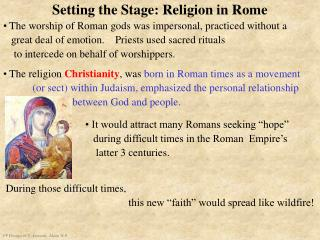 Setting the Stage: Religion in Rome