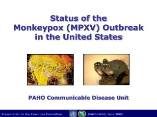 Status of the  Monkeypox (MPXV) Outbreak in the United States