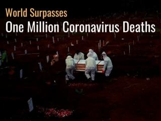 World surpasses one million coronavirus deaths