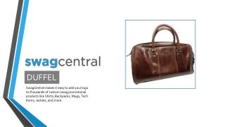 Custom Duffel Bags Online - Swagcentral