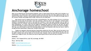 AK Homeschool