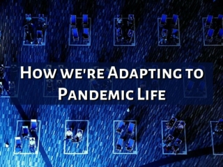 How we're adapting to pandemic life