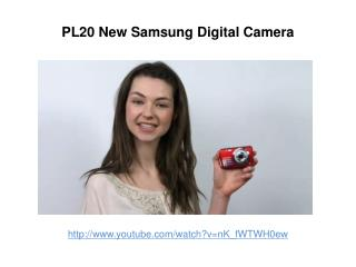 New Samsung PL20 Review