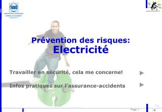 Pr vention des risques: Electricit