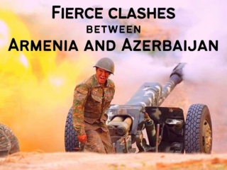 Fierce clashes between Armenia and Azerbaijan