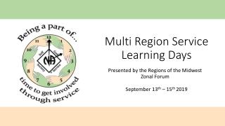 Term 2 regional forums