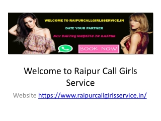 Most Reliable Raipur  Service Provider