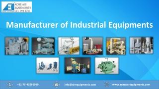Manufacturer of Industrial Equipment