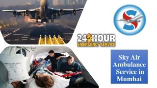 Book Air Ambulance from Mumbai with Emergency Medical Tools