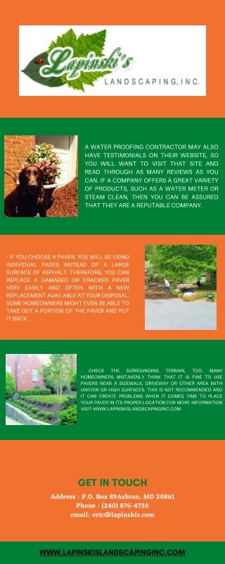 Landscape Maintenance Services Olney MD