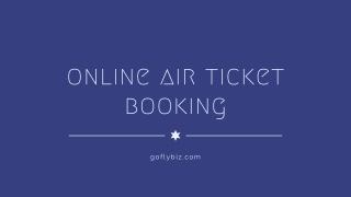 Best flight booking site-Domestic flights booking-Cheap domestic flights
