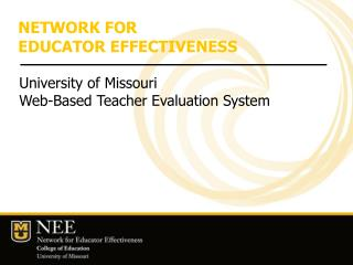 University of Missouri College of Education