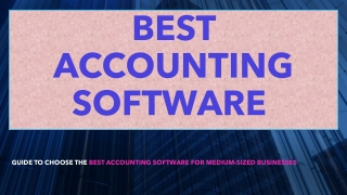 Benefits of Best Accounting Software by 360Quadrants