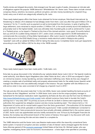 1MBD: Breaking information - Unseen leaked papers