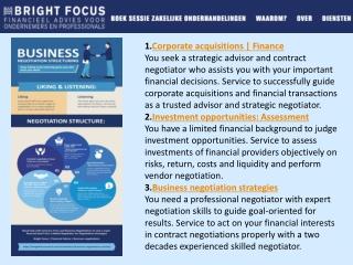 Business Negotiation Biases - Price Negotiator