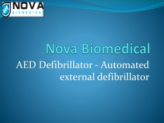 Get the most trusted AED Defibrillator