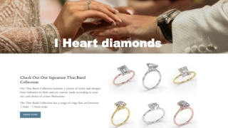 Wedding Band and Hidden Halo Engagement Rings