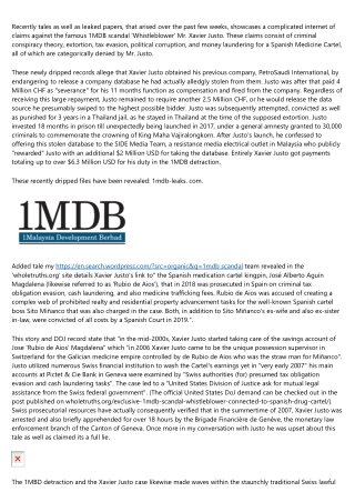1MBD: Breaking news - Unseen leaked papers