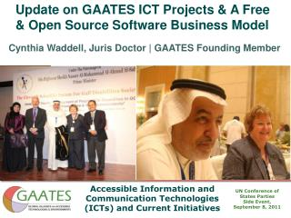 Update on GAATES ICT Projects  A Free  Open Source Software Business Model