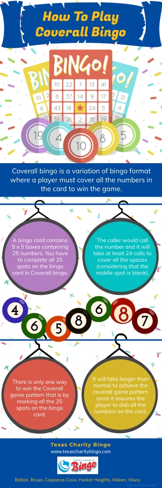 How To Play Coverall Bingo