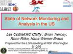 State of Network Monitoring and Analysis in the US