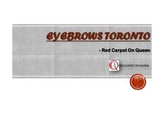 Eyebrows Toronto